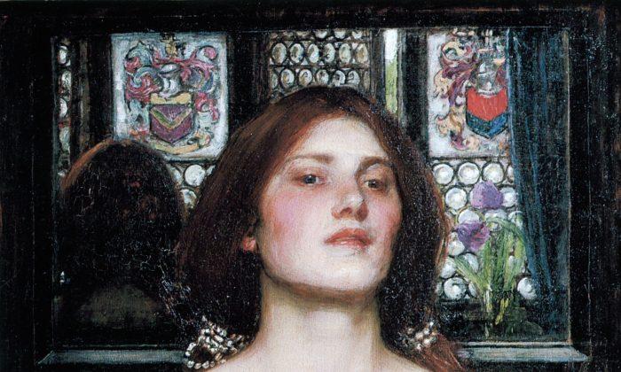 """Gather Ye Rosebuds While Ye May,"" 1908, by John William Waterhouse. (Public Domain)"