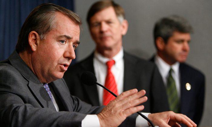 U.S. Rep. Ed Royce (R-CA) (L) in a file photo from Washington, DC. (Chip Somodevilla/Getty Images)