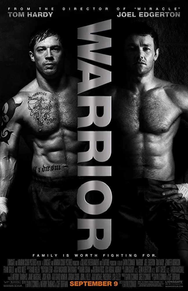 """movie poster in """"Warrior"""""""