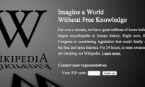Wikipedia, Reddit, Other Sites Blackout Over SOPA