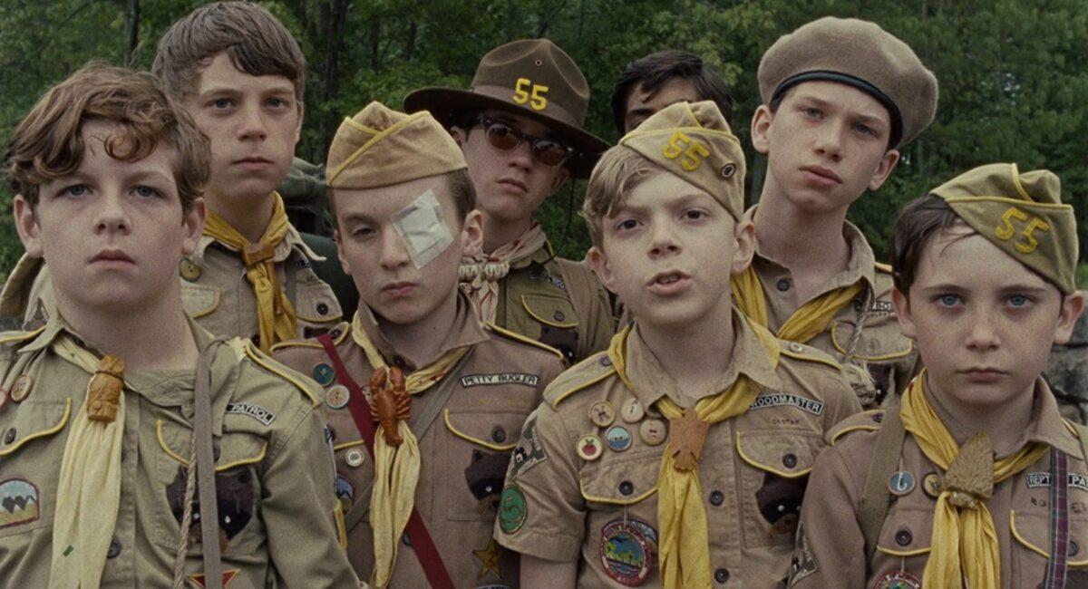 """boy scouts in """"Moonrise Kingdom"""""""
