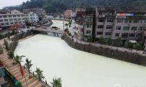 Latex Spill Turns Chinese River to 'River of Milk'