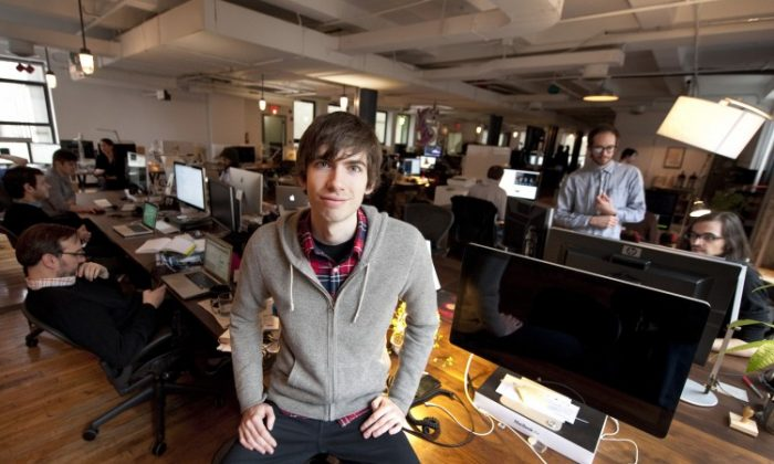 David Karp, founder of Tumblr, in this file photo. (Don Emmert/AFP/Getty Images)