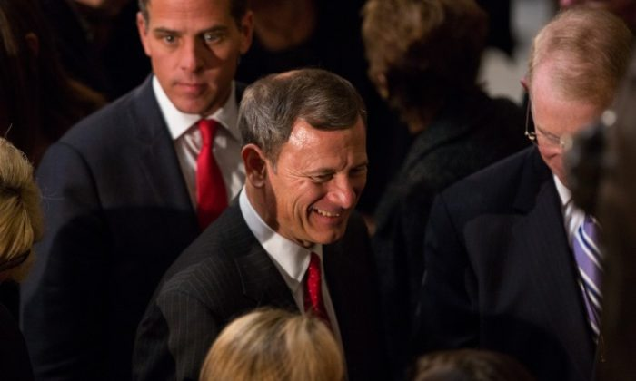 Chief Justice of the Supreme Court John Roberts (Allison Shelley/Getty Images)
