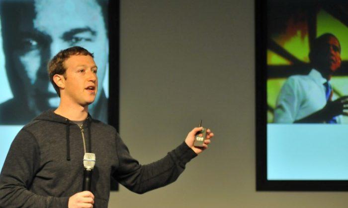 Mark Zuckerberg (Josh Edelson/AFP/Getty Images)