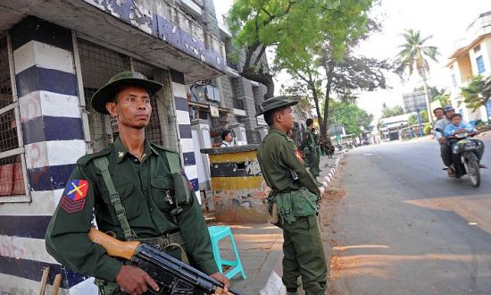 Powers Seek Influence in Burma's Conflict