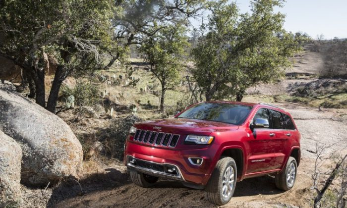 2014 Jeep Grand Cherokee (Courtesy of Chrysler Jeep)