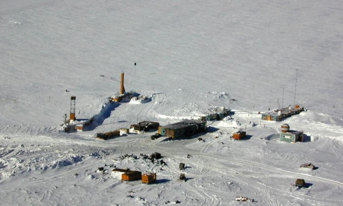 The coldest place on earth, Vostok Station, Antarctica. (Antarctic Sun)