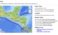 Earthquakes Rattle Mexico: 5.5 Magnitude, 5.1 Aftershock. Guatemala: 6.2