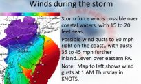 Costal Flood Watch Issued for Vulnerable New Jersey Coastline