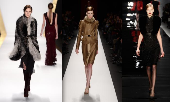(L-R) J. Mendel, Carolina Herrera, Reem Acra. (Frazer Harrison/Getty Images for Mercedes-Benz Fashion Week)