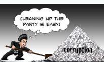 Xi's Corruption Sweep (Illustration)