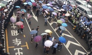 Chinese Workers Protest Over Unpaid Wages