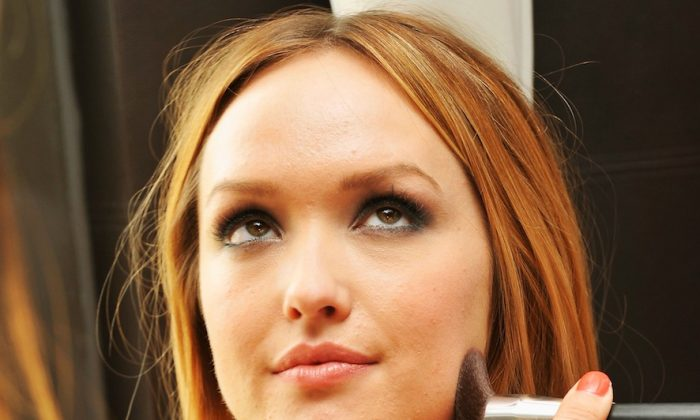 Actress Kaylee DeFer attends the Get Glam: A Fashion Week Lounge in New York City on Sept. 12, 2012. It doesn't have to take much to make something or someone look beautiful. (Gary Gershoff/Getty Images)