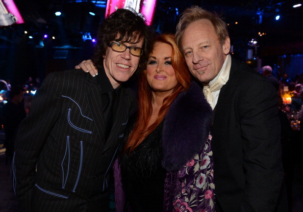 Kenny Vaughan, Wynonna Judd, and Cactus Moser attend the 60th Annual BMI Country Awards at BMI on October 30, 2012 in Nashville, Tennessee. (Rick Diamond/Getty Images for BMI)