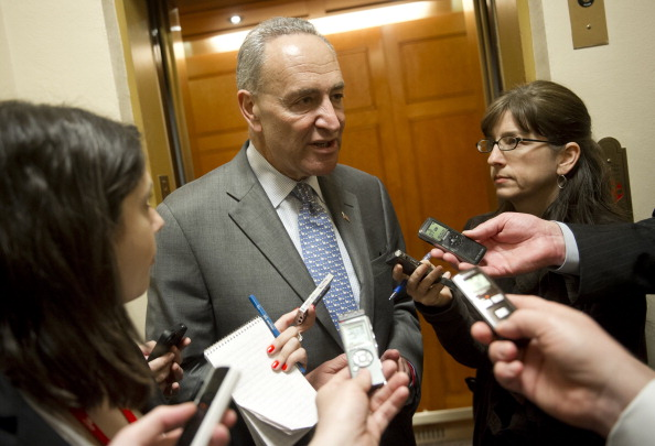 US Senator Chuck Schumer (SAUL LOEB/AFP/Getty Images)
