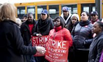 Fast Food Workers Strike for Living Wage