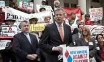 Bill de Blasio Joins Fracking Opposition
