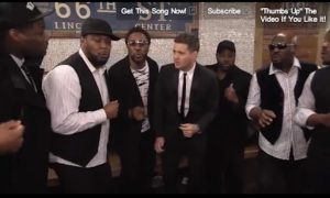 Michael Buble: Subway Performance in NYC (+Video)