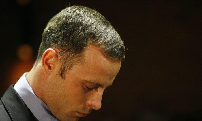 Oscar Pistorius (AP Photo/Themba Hadebe)