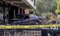 Vegas Restaurant Crash Injures 10, Driver Tries to Run