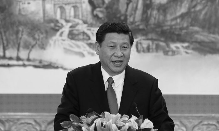 Chinese Communist General Secretary Xi Jinping in November 2012. (Lintao Zhang/Getty Images)