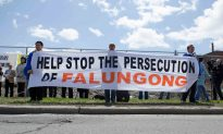 Falun Gong Believers Gather at Chinese Embassy in Ottawa to Commemorate Appeal