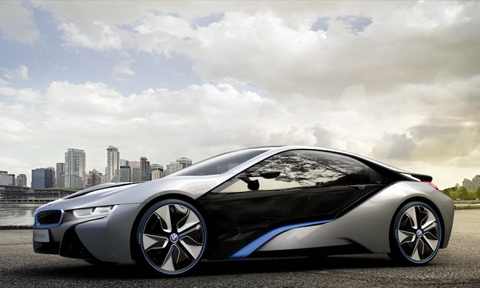 Rendering of BMW i8. (BMW Canada)