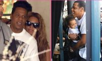 Blue Ivy in Paris with Beyonce and Jay-Z (+Photo)
