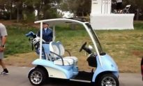Michael Jordan Golf Cart Tricked Out, Features Sunroof