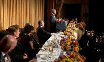 Obama CNN Joke at White House Dinner