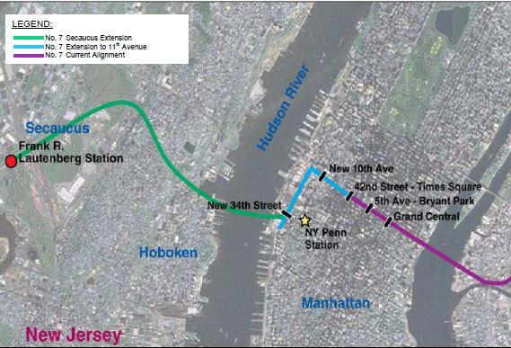 he proposed extension. (NYC Economic Development Corp. via Parsons Brinckerhoff)