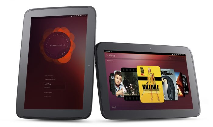 Open-source operating system Ubuntu is shown running on a tablet. Canonical Ltd., recently signed a contract to develop a national operating system for the Chinese Communist Party.(Ubuntu)