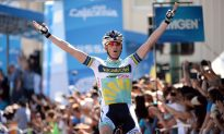 Westra Wins Stage One of the 2013 Tour of California