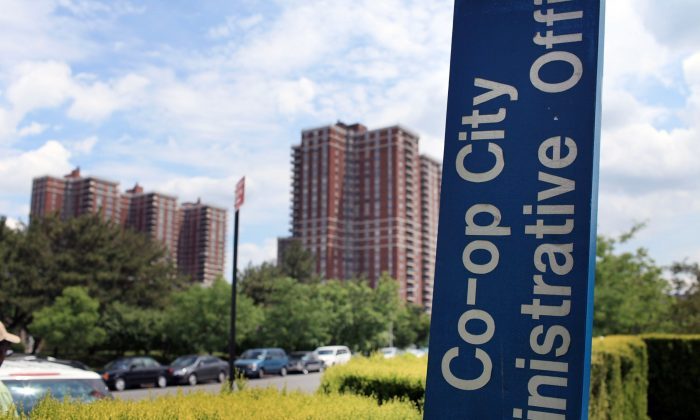 A view of residential buildings at Co-op City, one of the largest cooperative housing developments in the world. (Spencer Platt/Getty Images)