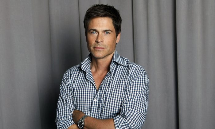 This April 25, 2012 file photo shows actor Rob Lowe posing for a portrait in New York. (AP Photo/Amy Sussman, file)