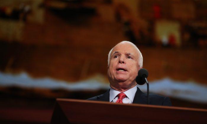Sen. John McCain (Spencer Platt/Getty Images)