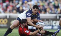 Crusaders Crash Party for Brumbies Legend