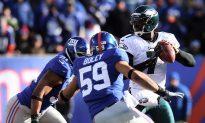'Secret' NFL Child Abuse Arrest: Ex-Giants LB Charged