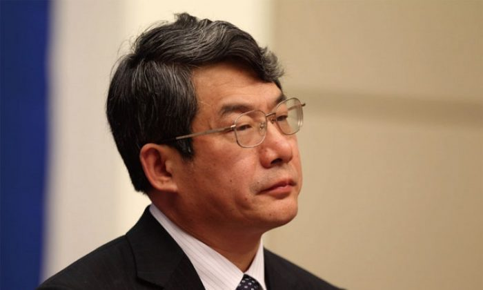 Liu Tienan, former director of the National Energy Administration, has been removed from his post. (New Epoch Weekly Archive)