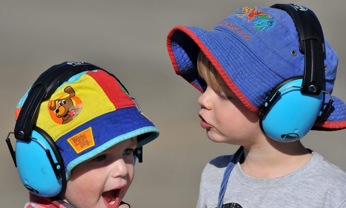 Young aviation enthusiasts at the Australian International Airshow in Melbourne on March 1, 2013.  Australian families can now find out how their children's education and care services are rated under a new quality rating system. (Paul Crock/AFP/Getty Images)