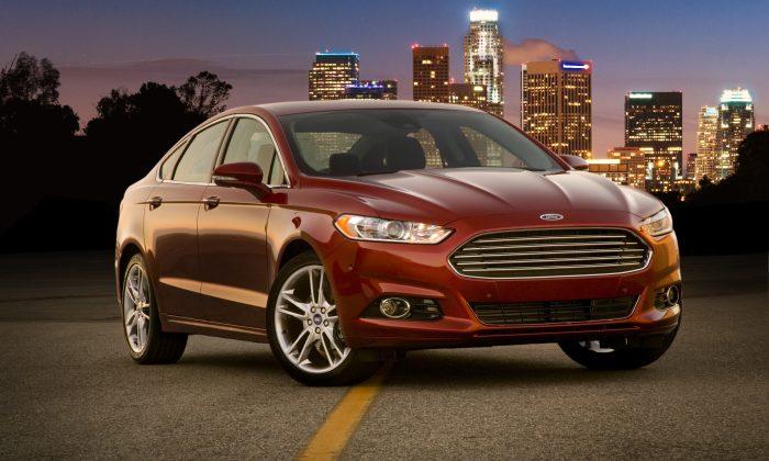 Ford Fusion Titanium (Courtesy of Ford Motors)