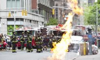 Manhole Fire Erupts in Midtown