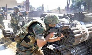 Syrian Troops Capture Strategic Mountain in Coastal Province