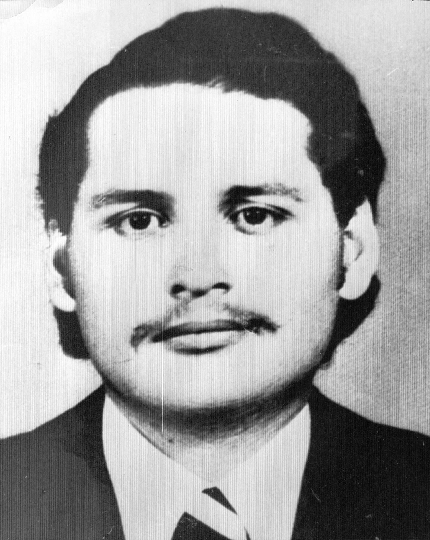 Undated 1970s file of Illich Ramirez Sanchez. (AP Photo/French Police)