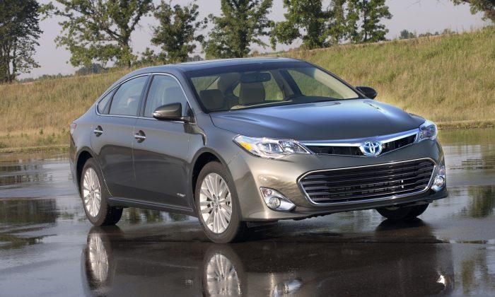 The 2013 Toyota Avalon Hybrid. (Courtesy of Toyota)