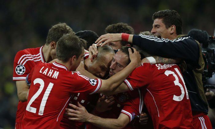 Champions League Final Winning Goal Was Scored By Arjen Robben Of Bayern Munich