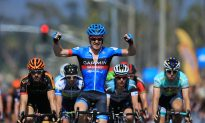 Tyler Farar Wins Sprint in Stage Four of the 2013 Tour of California