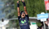 Intxausti of Movistar Wins Giro d'Italia Stage 16