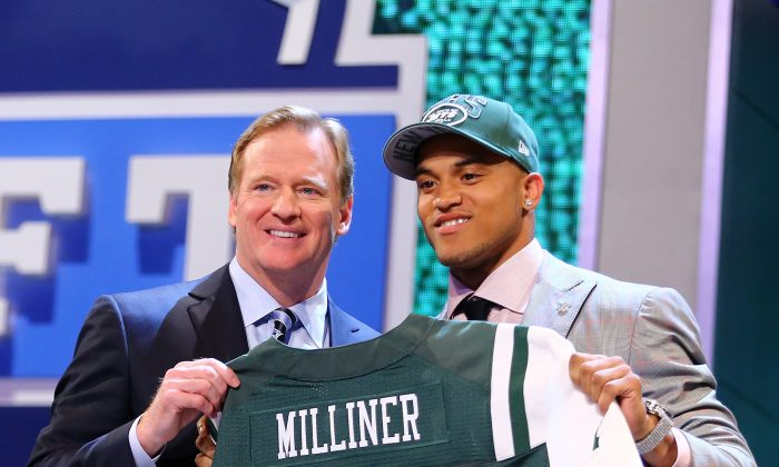By all account, the Jets did well to get Dee Milliner (R) with the ninth overall pick in the draft. (Al Bello/Getty Images)